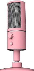 Razer Seiren X USB Streaming Microphone Quartz Pink