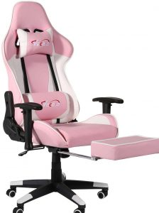 VECELO Gaming High Back Computer Racing PC Chair.