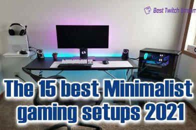 The 15 Best Minimalist Gaming Setups – 2021