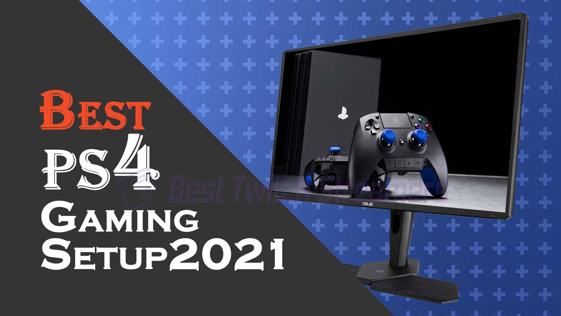 ps4 gaming setup